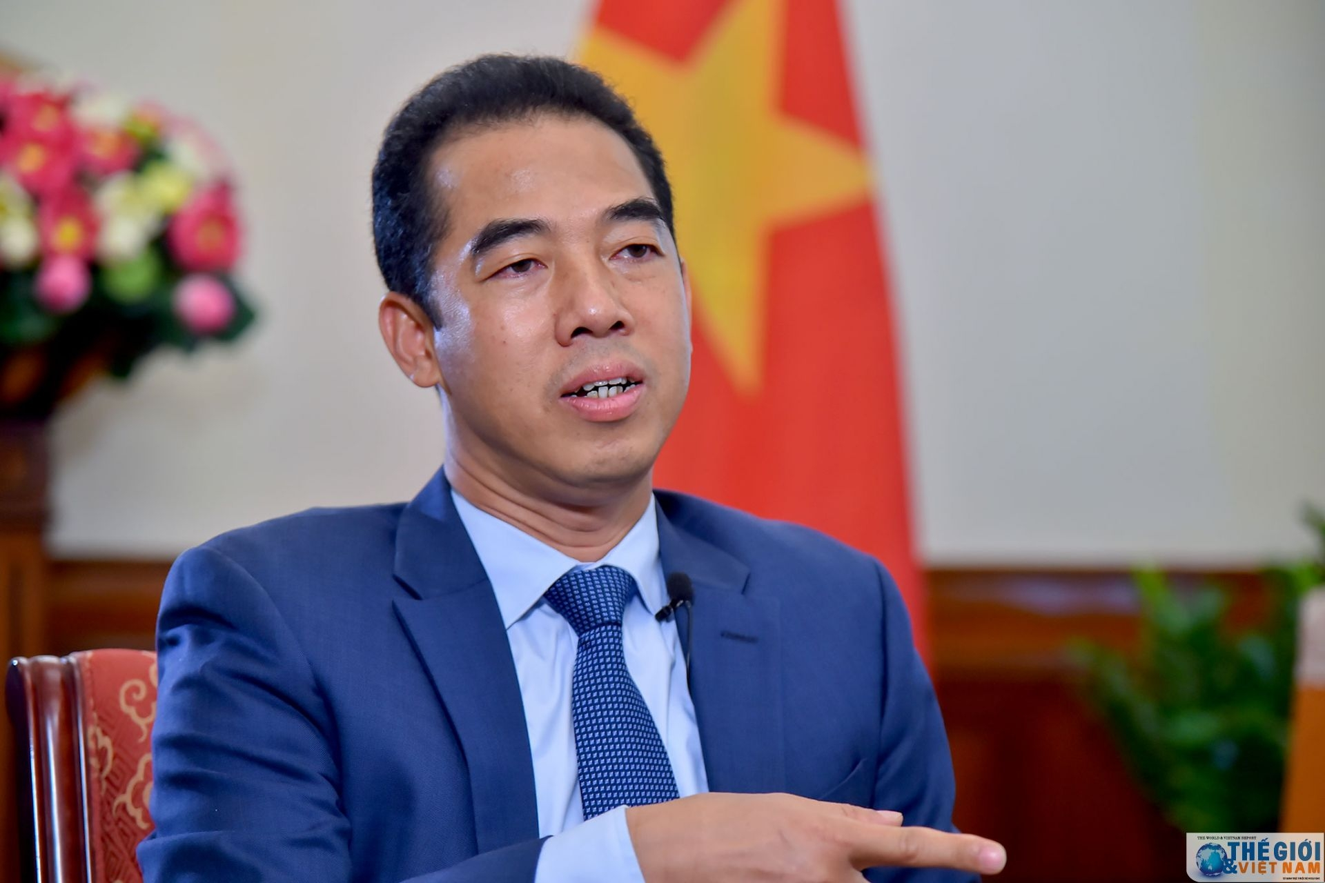 Deputy Foreign Minister To Anh Dung (Photo: The Gioi Vietnam)