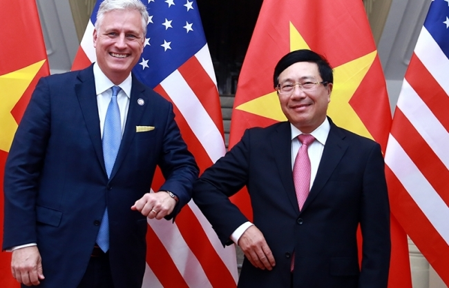 Vietnam news today (January 16): Deputy PM, FM Minh holds talks with U.S. National Security Adviser