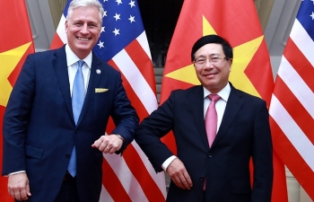 vietnam news today january 16 deputy pm fm minh holds talks with us national security adviser