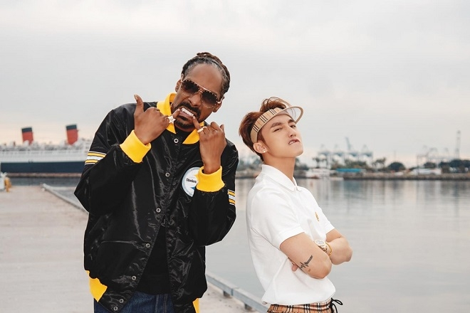 Son Tung MTP and Snoop Dogg in the music video (Photo: Captured)