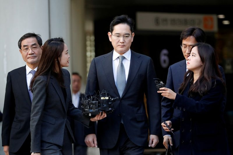1118  A South Korean court will sentence Samsung Electronics Co Ltd heir Jay Y. Lee on a bribery charge (Photo: Investing UK)