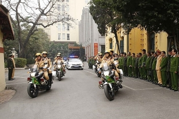 vietnam news today january 21 hanois police begin task of ensuring security for national party congress