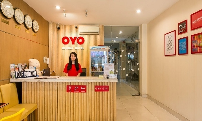 A franchised hotel of Indian hospitality company OYO in Vietnam. Photo courtesy of OYO.