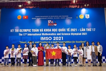 Vietnamese students earn 20 medals at International Olympiad Contest
