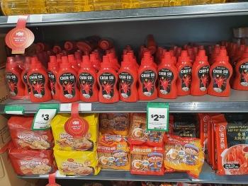 vietnamese goods abundant in australian supermarkets ahead of tet