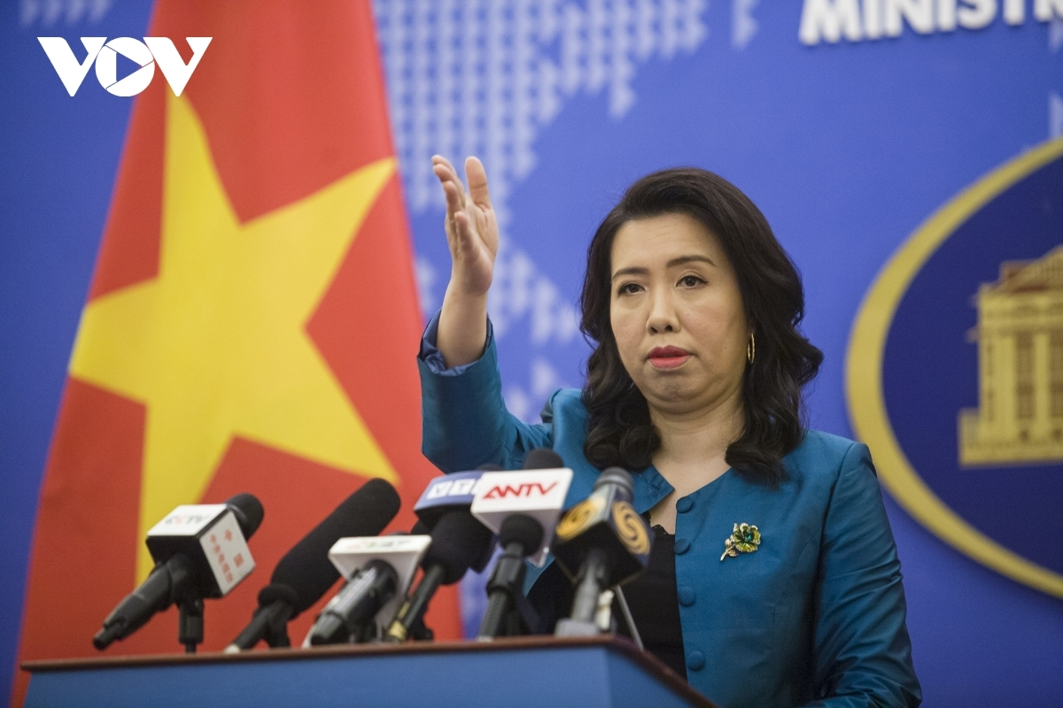 Foreign Ministry spokesperson Le Thi Thu Hang (Photo: VOV)
