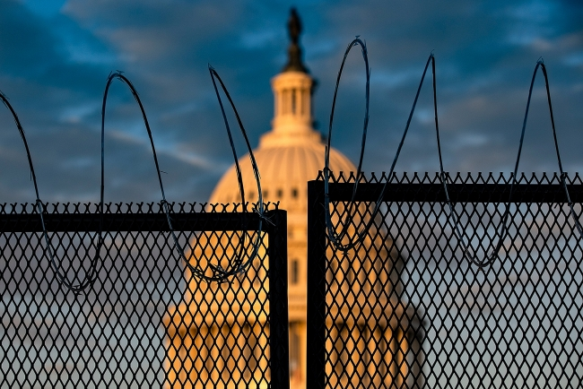 World breaking news today (February 1): Proposal to build permanent fence around the Capitol meets resistance