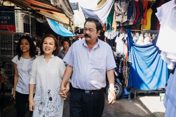 phuong uyen trans father and mother harmonious traits yin and yang building tan hiep phats success