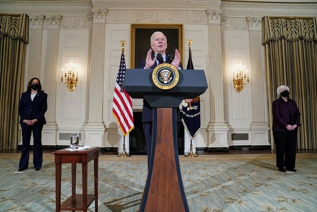 World breaking news today (February 6):  Democrats clear path for approval of Biden