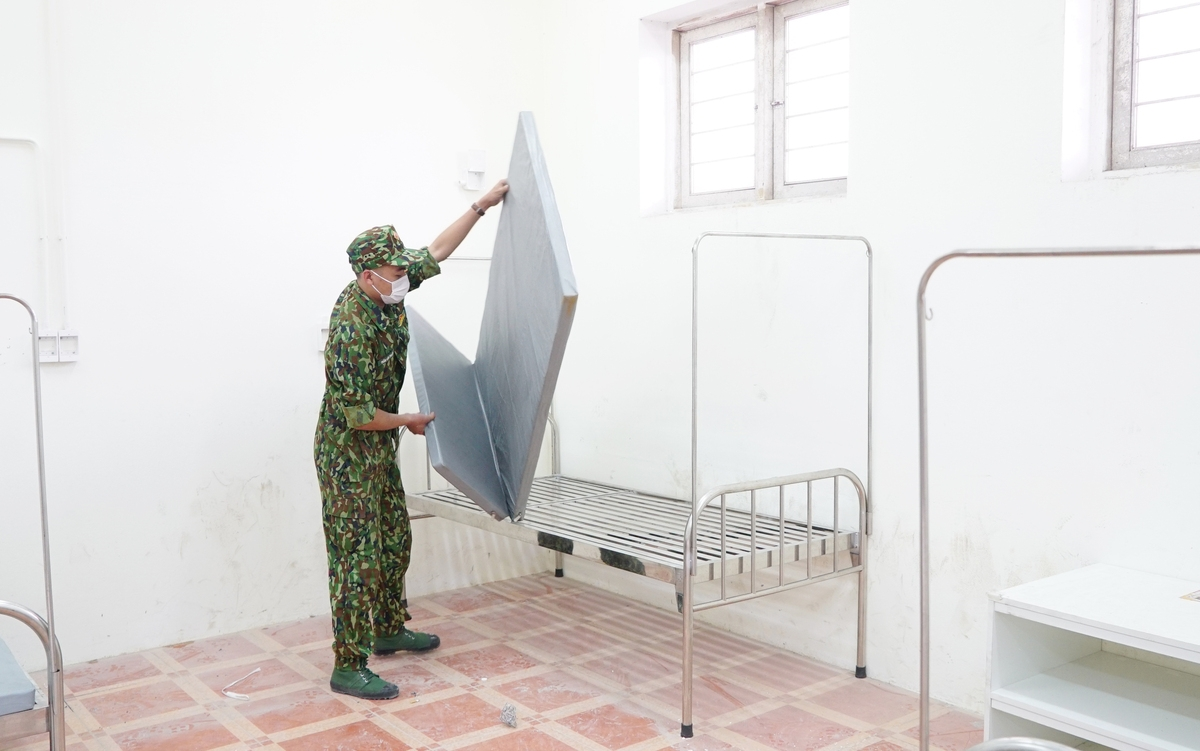 Hai Duong's third field hospital established at 'lightning speed'