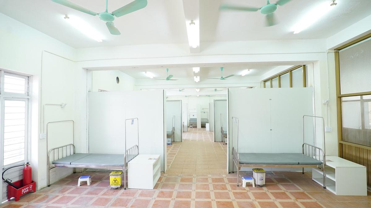 Hai Duong's third field hospital established at 'lightning speed'