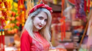 wearing ao dai gives expat a sense of nobility and pride