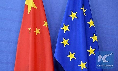 World breaking news today (Feb 16):  China overtakes U.S. as EU