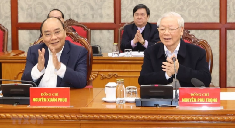vietnam news today feb 19 politburo secretariat of party central committee hold first session