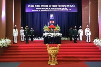 vietnam news today feb 21 respect paying ceremony for former deputy pm truong vinh trong