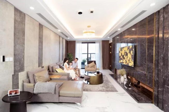 Only from VND 480 million owns luxury apartments more than 108m2 center of Hanoi
