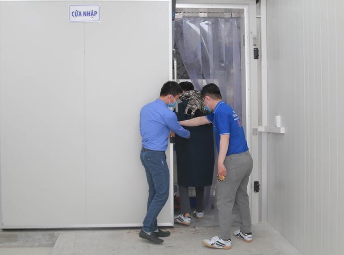 A peak into Vietnam's first super-cold COVID-19 vaccine storage