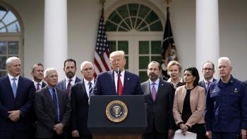 Trump declares coronavirus outbreak a national emergency