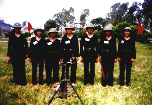 the organization of vietnam militia and self defence force