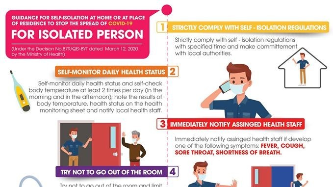 guidance on quarantine and self isolation amidst covid 19 infographics