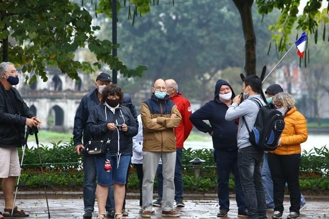 hanoi still a friendly safe destinatination for foreign tourists