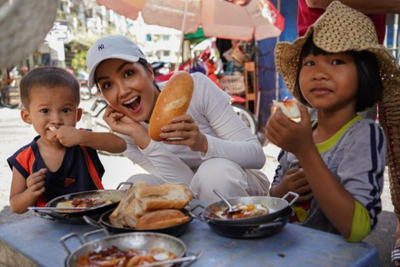 discover famous banh mi shops in hcmc with miss universe vietnam
