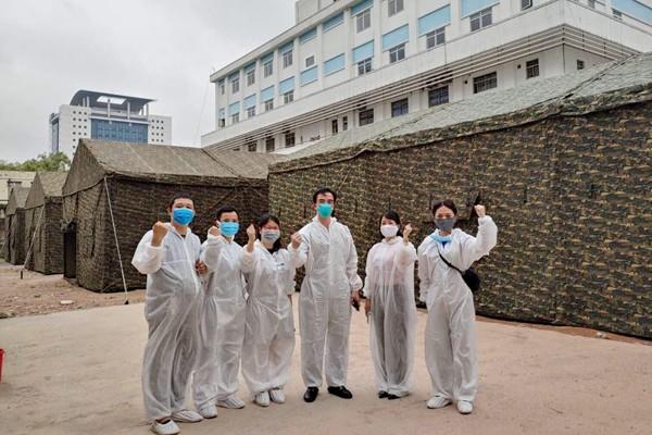 bach mai hospital to set up field hospital after its lockdown