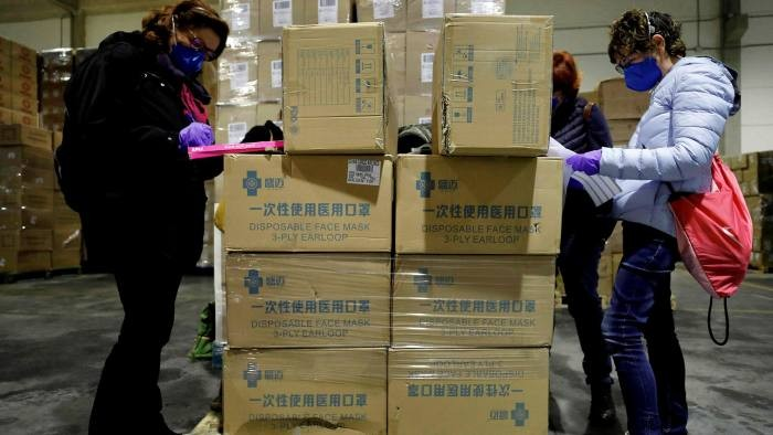 netherlands spain turkey to recall defective china made masks and test kits