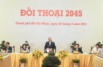 vietnam news today march 8 pm phuc hosts dialogue 2045 with business leaders