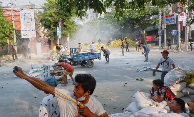 world breaking news today march 15 at least 39 reportedly killed in myanmar as chinese factories burn