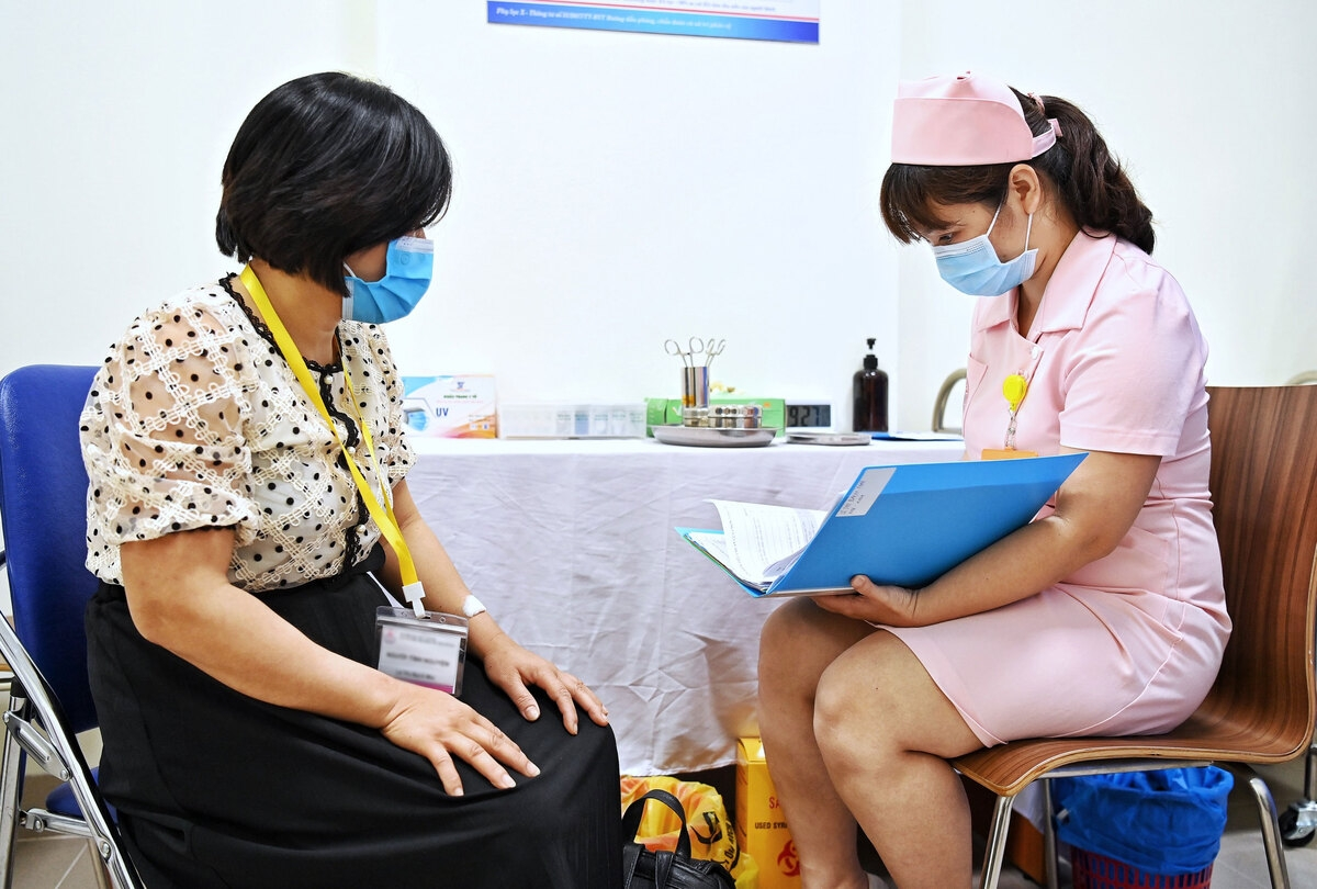 In Pictures: Made-in-Vietnam Covivac vaccine's human trial procedures
