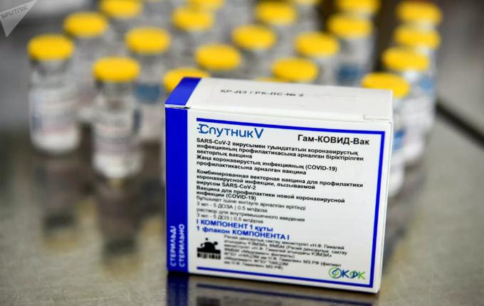 Russia presents 1,000 doses of  Sputnik V vaccine to Vietnam