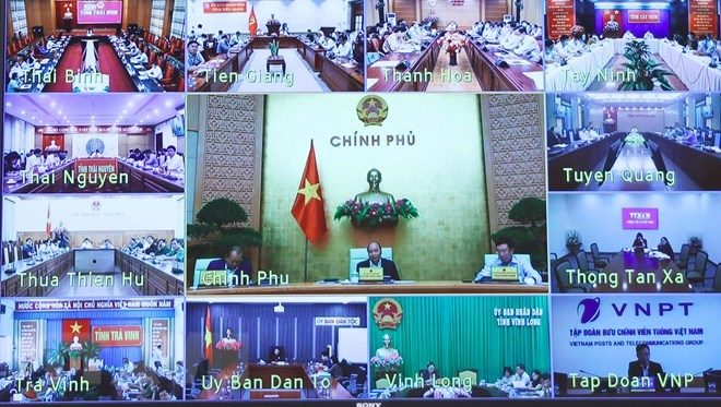 In photos: PM calls on Vietnam to keep on pursuing twin goals