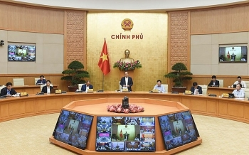 in photos pm calls on vietnam to keep on pursuing twin goals