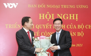 vietnam news today march 20 le hoai trung designated as head of partys commission for external relations