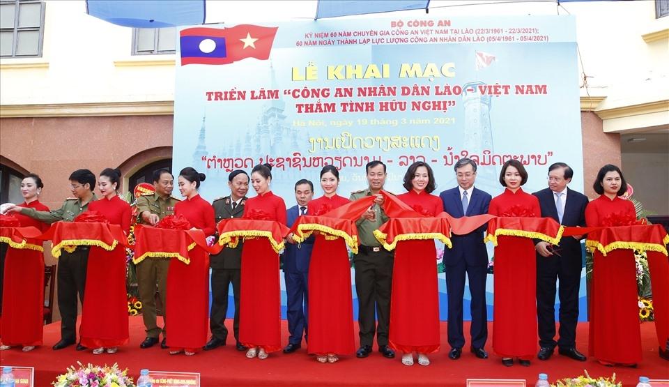 Lao - Vietnam People's Public Security: Attachment and Gratitute