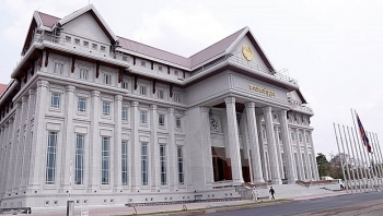 vietnam news today march 22 vietnamese funded new national assembly building handed over to laos