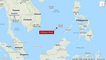world breaking news today march 23 philippines demands chinese fishing flotilla leave disputed south china sea reef