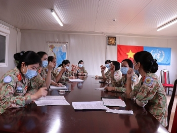 Resilient female Vietnamese peacekeepers in South Sudan