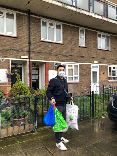 COVID-19 Relief Association in England: noble gesture in pandemic time