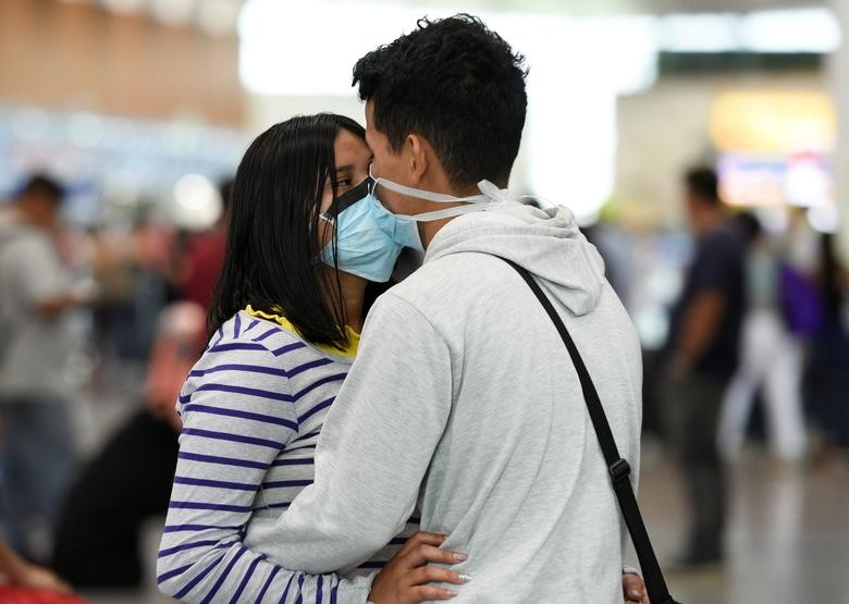 Love in the time of COVID-19 outbreak in pictures