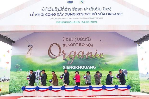 Vietnam dairy giant Vinamilk builds organic milk farm in Laos