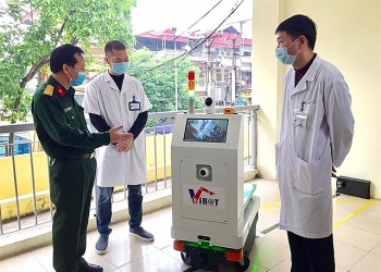 vietnam deploys self made robots in ncov high risk infection areas