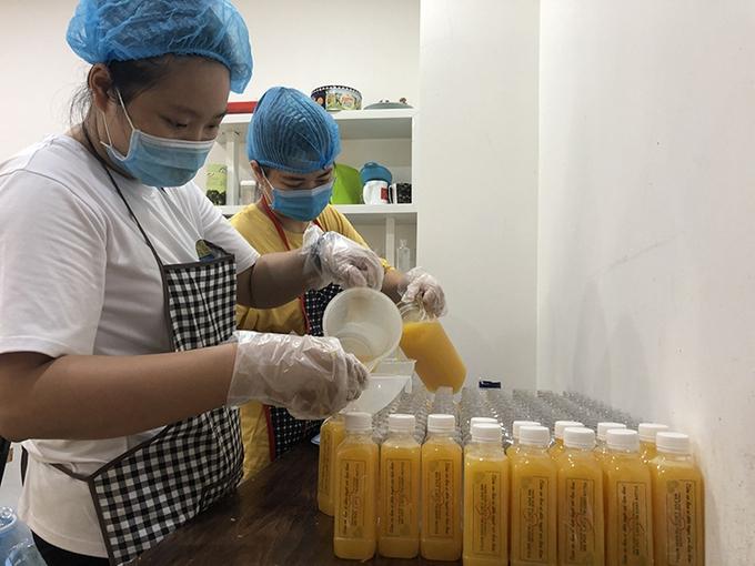 thousands of fresh juice bottles delivered to covid 19 frontline medics