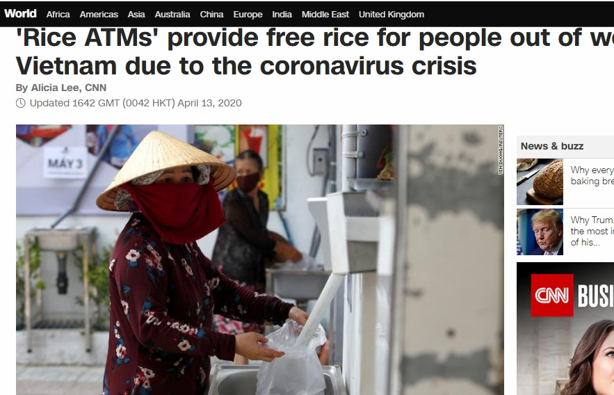 international media lauds vietnams rice atm