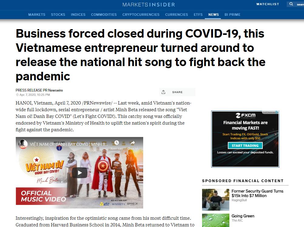 vietnams new coronavirus song makes international headlines