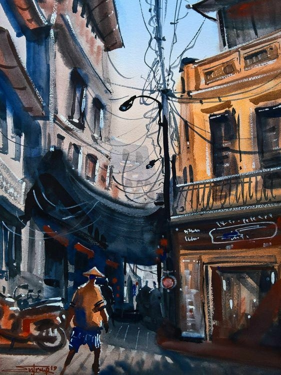 vietnam through russian tourists mesmerizing drawings