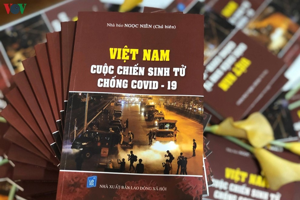first covid 19 themed book launched in vietnam