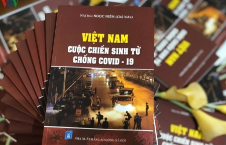 First COVID-19-themed book launched in Vietnam