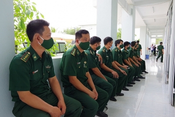 Border guards in Southwest Vietnam prioritized for Covid-19 injection